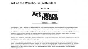 Art At The Warehouse