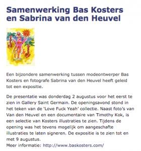 Bas Kosters|Sabrina van den Heuvel